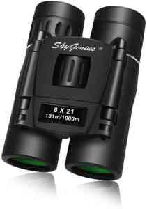 Skygenius 8x21 Small Compact Lightweight Binoculars For Concert Theater Opera