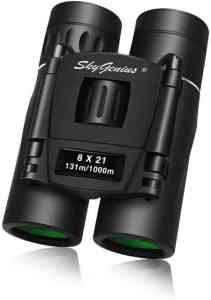 Skygenius 8x21 Small Compact Lightweight Binoculars For Concert Theater Opera