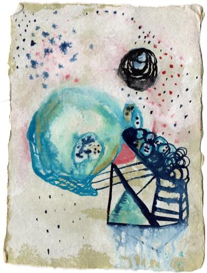 Watercolor, 4x6 in.