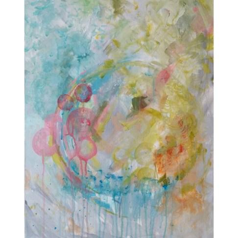 Acrylic on canvas, 16x20 in.