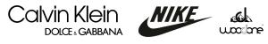 Calvin, Dolce, Nike Brillen