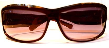 JBF Sonnenbrille Lila Kunststoff S106 Silberrand hochglänzend