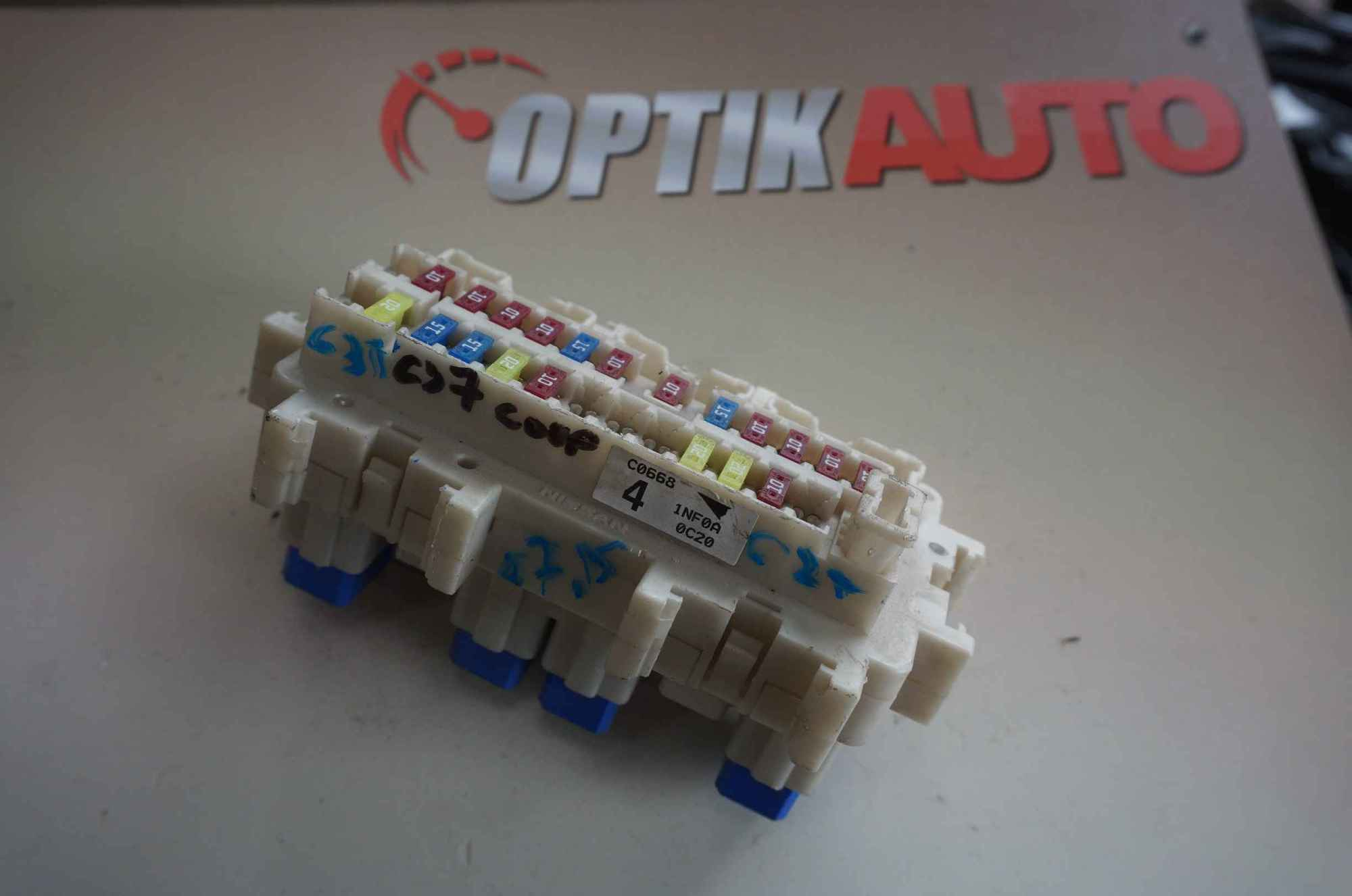 hight resolution of infiniti g25 g35 g37 q60 cpe 2007 2015 fuse box cabin 243501nf0a