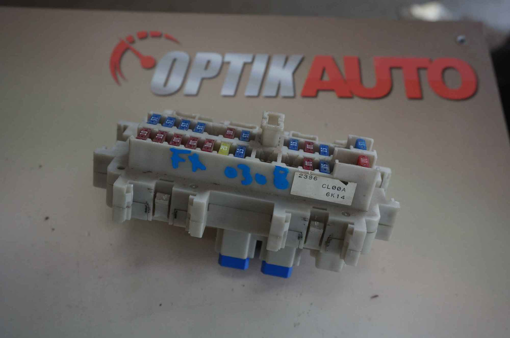 hight resolution of infiniti fx35 fx45 2003 2008 fuse box cabin 24350cl00a