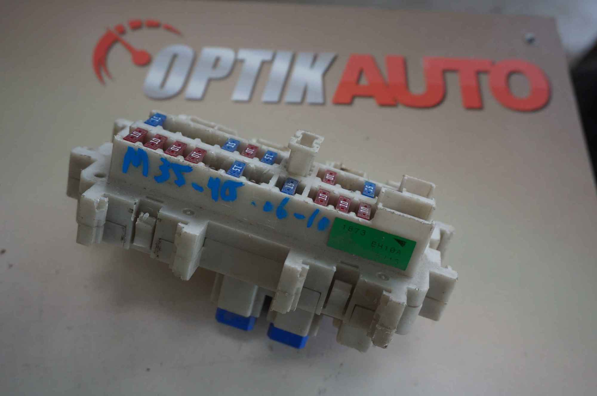 hight resolution of infiniti m35 m45 2006 2010 fuse box cabin 24350eh10a