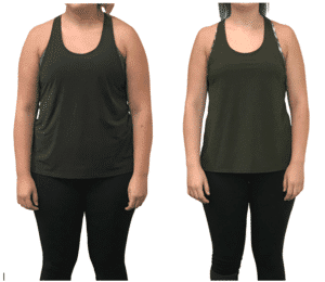 Personal Training Studio Weight Loss Success Story-D