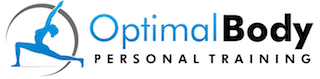 White Logo Small Optimal Body Personal Training | Sudbury Personal Trainer