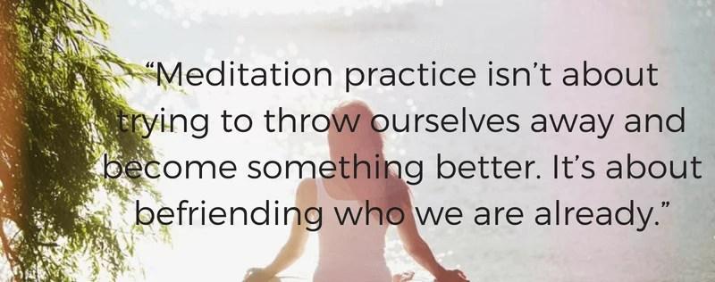 Control yourself through Meditation