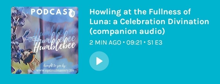 Listen to the companion audio for this article on the Humble be Podcast (click for link)