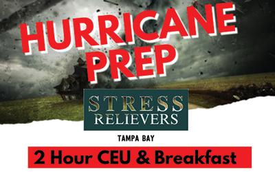 Stress Relievers: HURRICANE PREP 3/22/2019