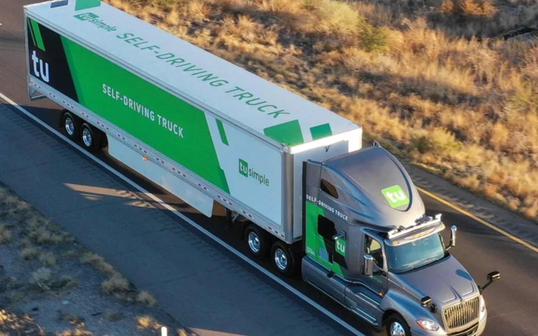 USPS Is Testing Self-Driving Trucks