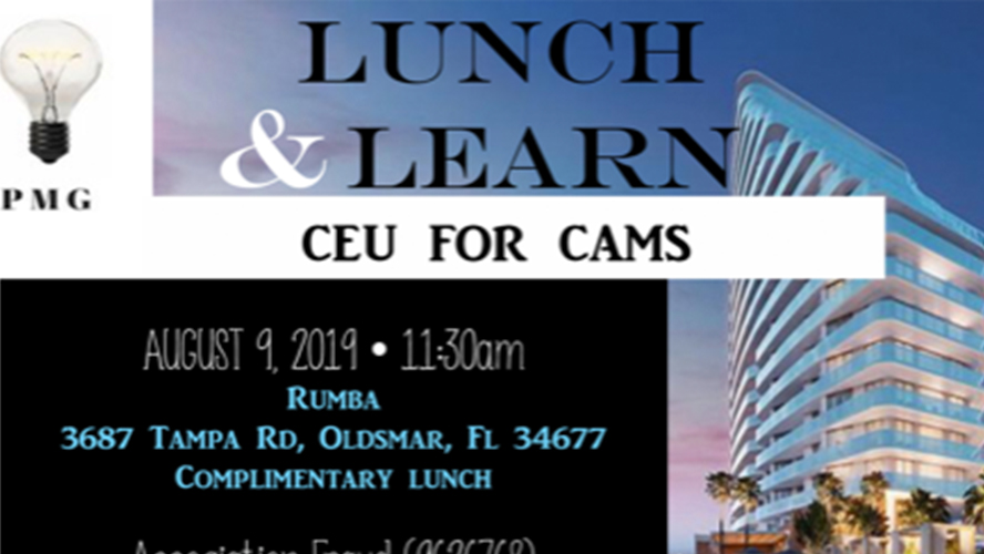 PMG Lunch & Learn!