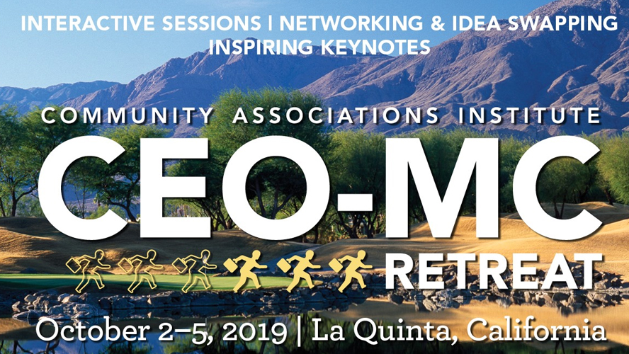 CEO-MC Retreat 2019 10/2-10/5