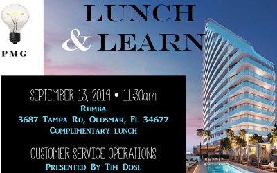 PMG Lunch & Learn 9/13