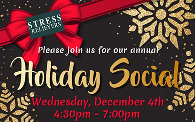 Stress Relievers Holiday Social 2019