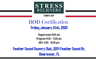 Stress Relievers Event 1-24-20