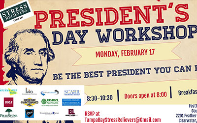 Stress Relievers: President's Day Workshop 2-17-20