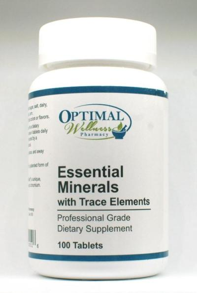 Essential Minerals (With Trace Elements)