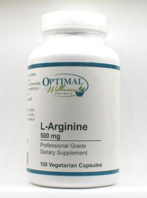 L-Arginine 500 mg (Supports Nitric Oxide Formation)