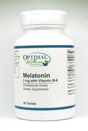 Melatonin 3 mg with B-6