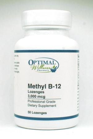 Methyl B-12 Lozenges (3,000 mcg)