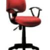 Chaise 403CH, Noir Etoile chromée