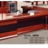 Bureau Marron chocolat  +Retour MDF A-8003[280X160X76],