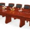 Table Réunion MDF, C-8[360X150X76], Acajou