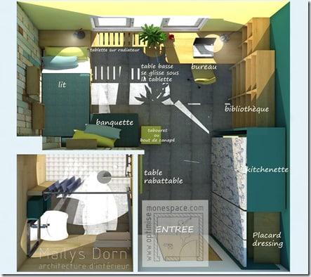 chambre étudiant 1