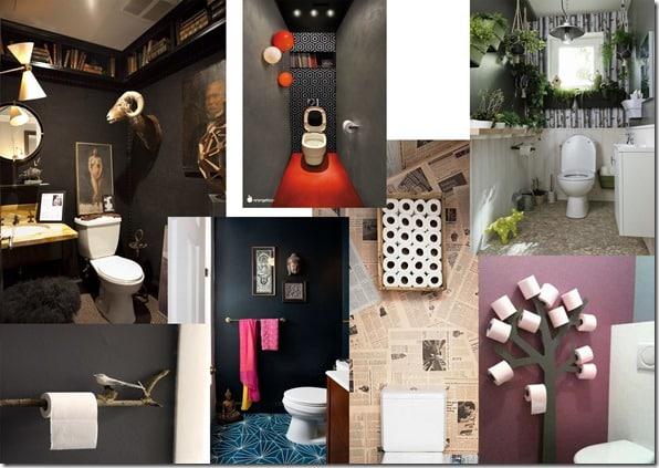 toilettes originales