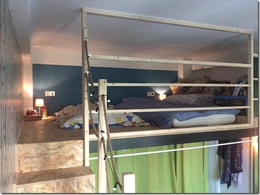 CHAMBRE MEZZANINE TINY LOFT TINY HOUSE