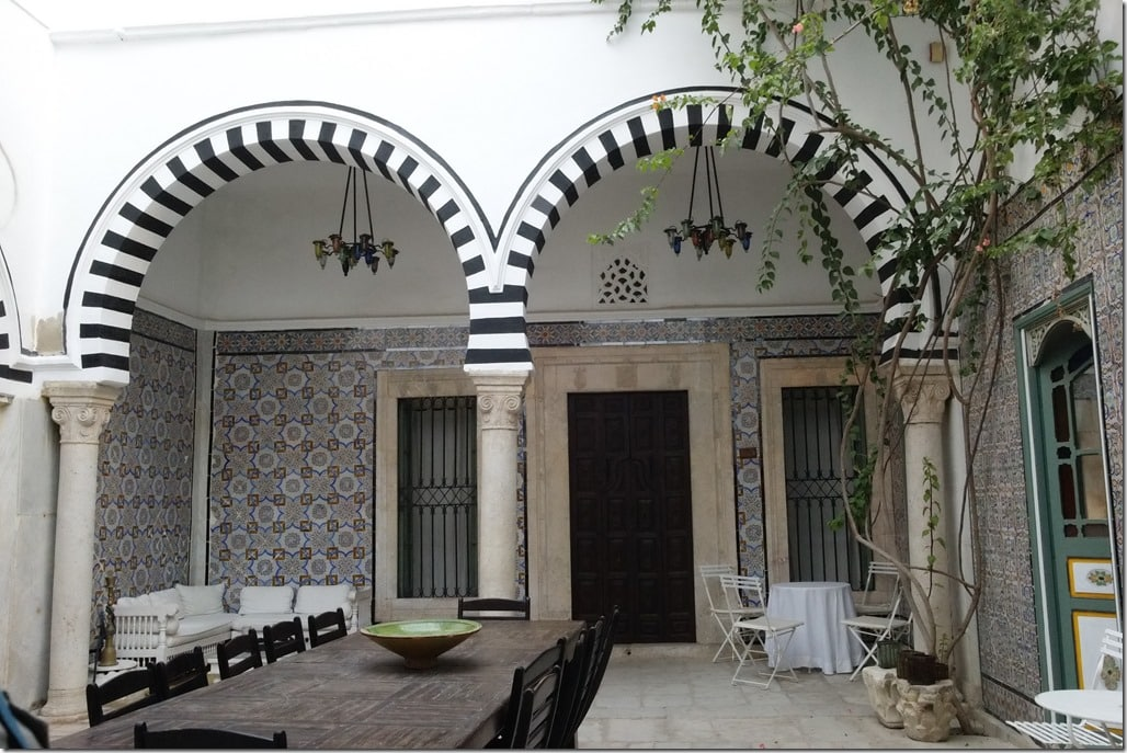 maison avec patio médina de Tunis