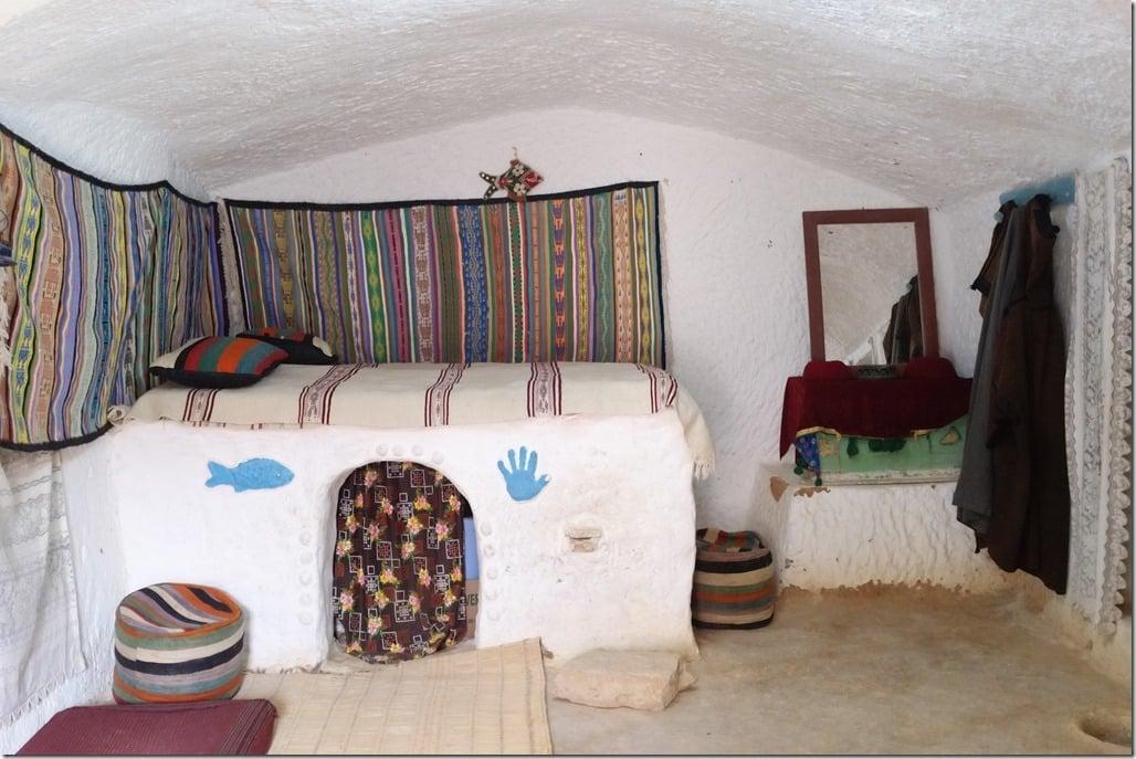 maison troglodyte à Matmata : chambre