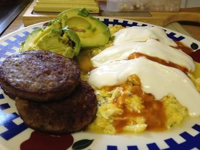 Jimmy Moore's keto eggs