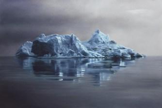 Има нещо много красиво в тези айсберги. Вижте го.