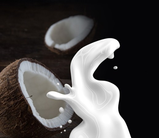 coconut for eyelash growth