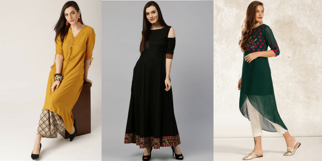 5a35ea6de1d4a Home Fashion 10 Best and Latest Kurti Designs that are Popular in 2018.  latest kurti designs