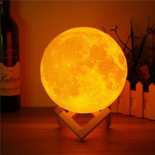 3D Moon Lamp gift for girls