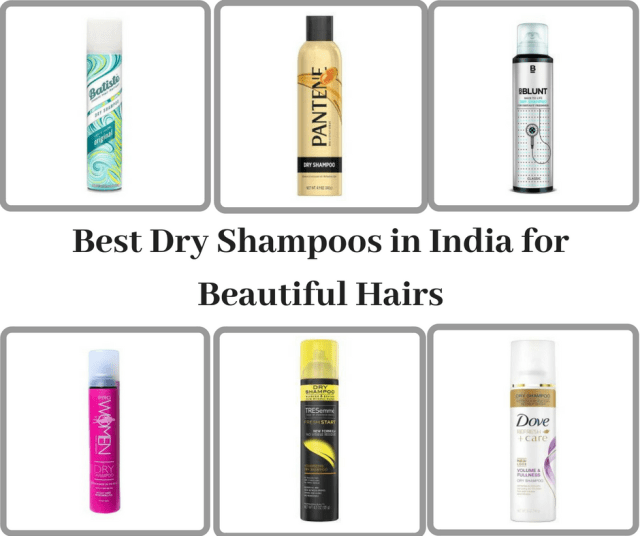 Best Dry Shampoos in India for Beautiful Hairs