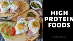 18 High Protein Foods for Healthy Lifestyle and Weight Loss