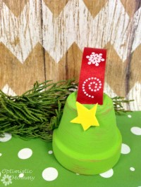 Flower Pot Christmas Tree Ornament - Optimistic Mommy