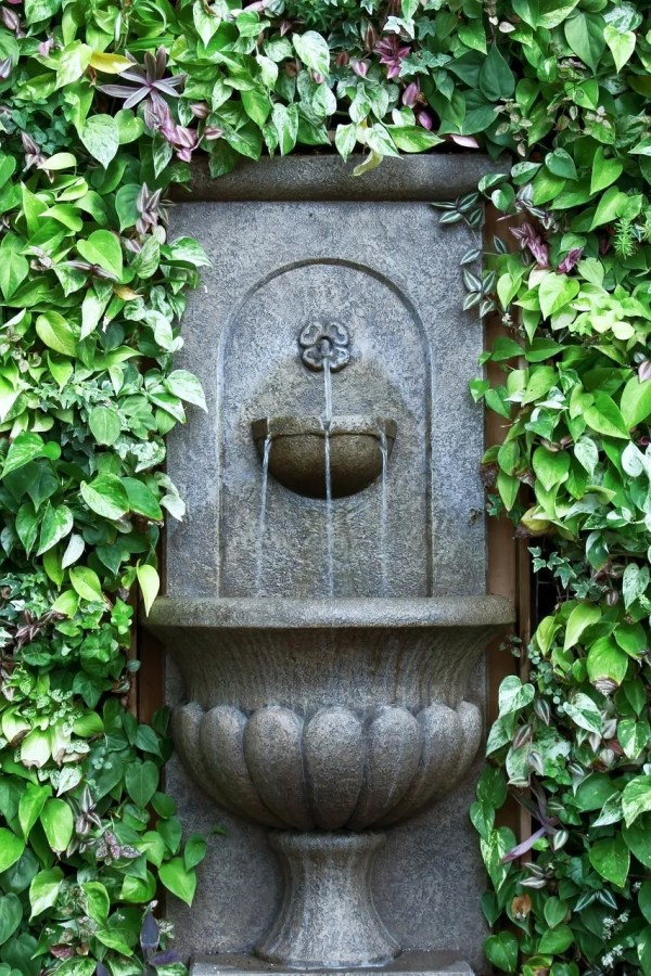 Good Outdoor Water Wall Fountains