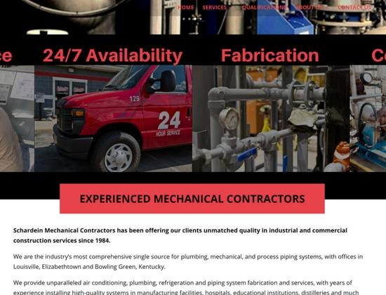 lawn care company website design