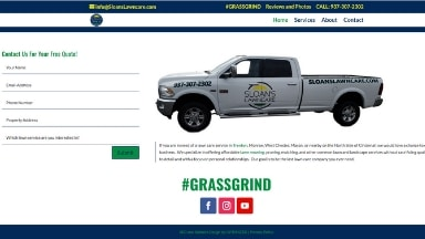 Sloans Lawncare Website