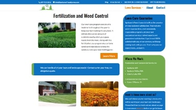 Spokanes Finest Lawns Website