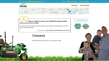Susquehanna Lawn Care Website