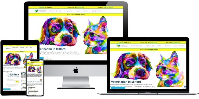 CAMCPets com website