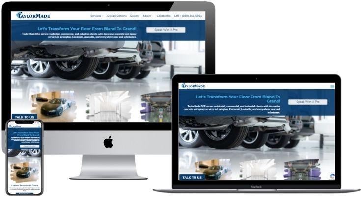 Flooring Company Website Design