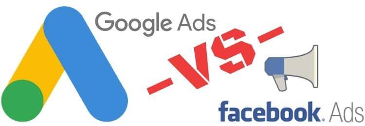 Google Ads Versus Facebook Ads