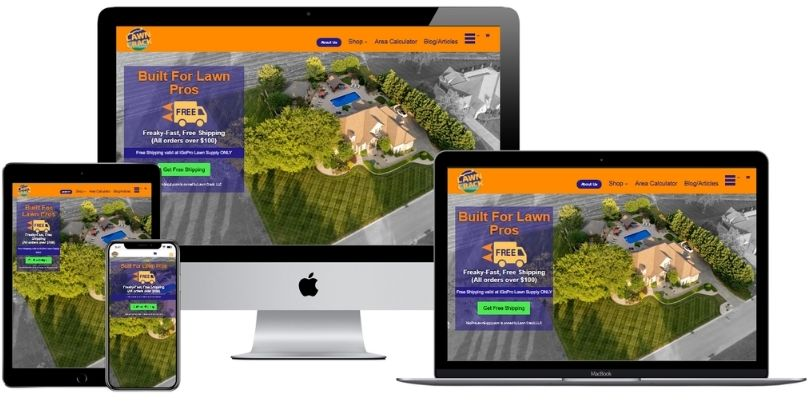 LawnCrack com website